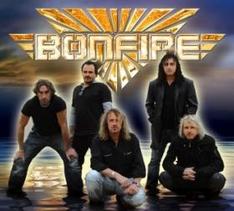 Bonfire, die Rockband aus Ingolstadt