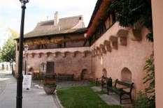 Altmühltal: Stadtmauer in Gunzenhausen