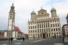 Bayerisch Schwaben: Rathaus in Augsburg