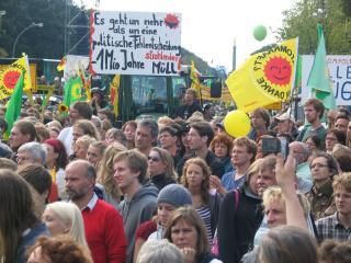 Anti Atomkraft Demonstration München